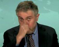 Krugmanholdingnose